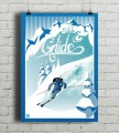 Slide And Glide - plakat