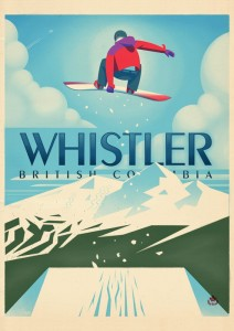 Whistler - Snowboard Booter
