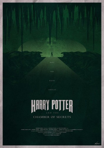 Harry Potter And The Chamber Of Secrets - plakat