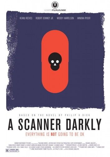 A Scanner Darkly - plakat