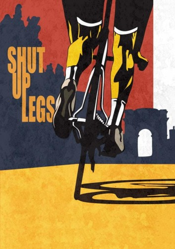 Shut Up Legs - plakat