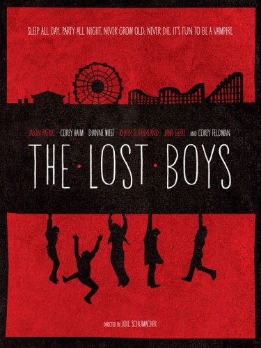 The Lost Boys - plakat