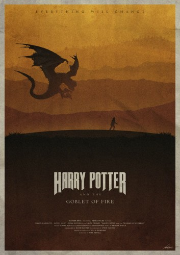 Harry Potter And The Goblet Of Fire - plakat