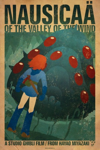 Nausicaä Of The Valley Of The Wind - plakat