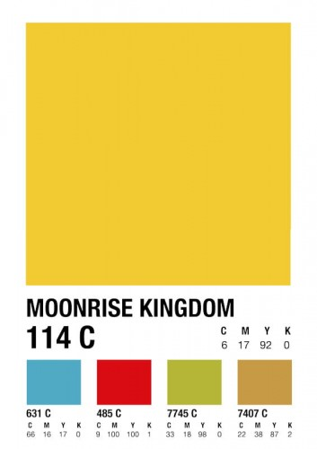 Moonrise Kingdom - plakat