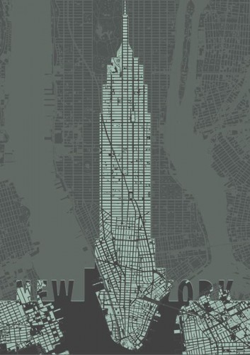 Empire State Building - plakat