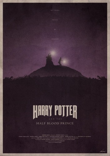 Harry Potter And The Half-Blood Prince - plakat