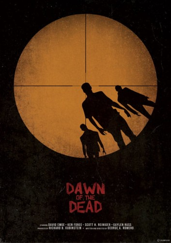 Dawn Of The Dead - plakat