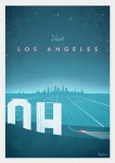 Los Angeles USA - plakat