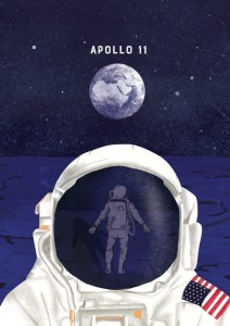 Apollo 11 - plakat