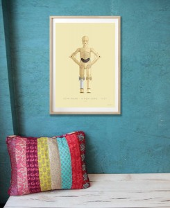 Star Wars - C3PO - plakat