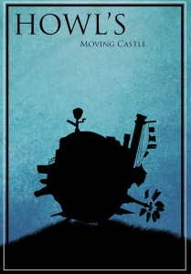 Howl's Moving Castle - plakat