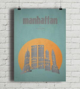 Manhattan - plakat