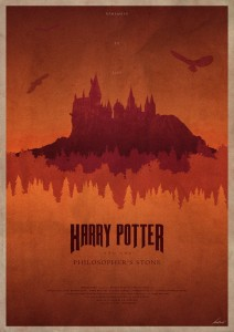 Harry Potter And The Philosopher's Stone - plakat