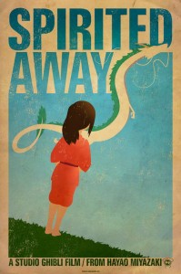 Spirited Away - plakat