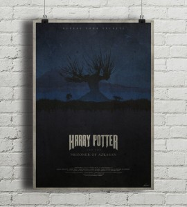 Harry Potter And The Prisoner Of Azkaban - plakat