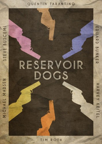 Reservoir Dogs - plakat