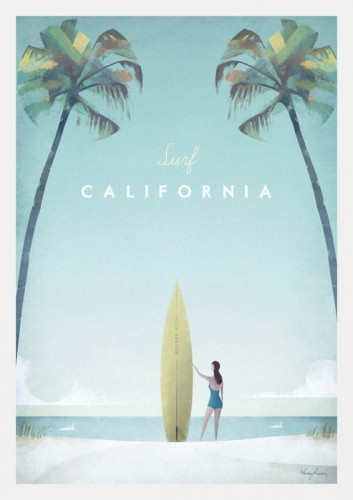 California - plakat