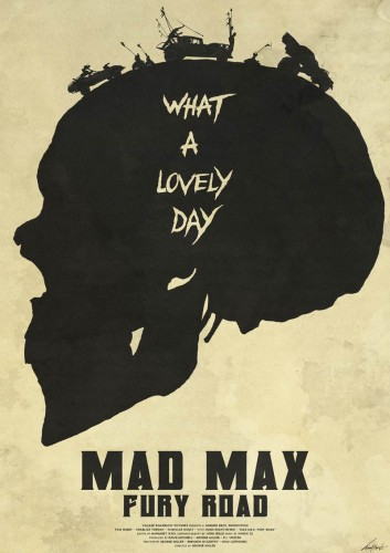Mad Max: Fury Road - plakat
