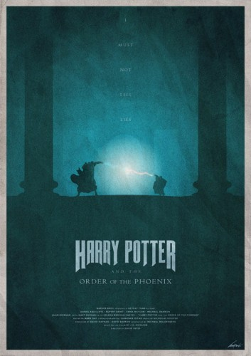 Harry Potter And The Order Of The Phoenix - plakat