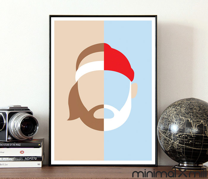 Life Aquatic plakat