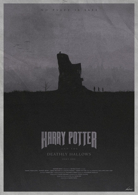 Harry Potter And The Deathly Hallows: Part 1 - plakat