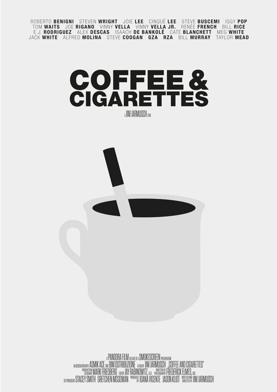 Coffee And Cigarettes - plakat